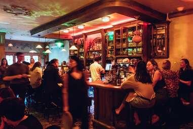 patrons inside a bar