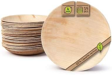 Palm Leaf Compostable Plates