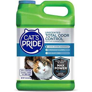 Cat's Pride Total Odor Control Fragrance Free Clumping Cat Litter