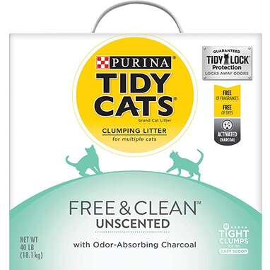 Purina Tidy Cats Free & Clean Unscented Clumping Cat Litter