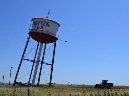 The Leaning Tower of Texas