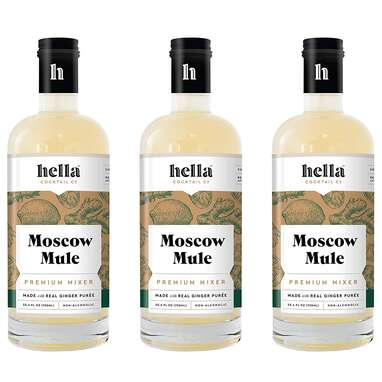 Hella Cocktail Co. Moscow Mule Premium Cocktail Mixers