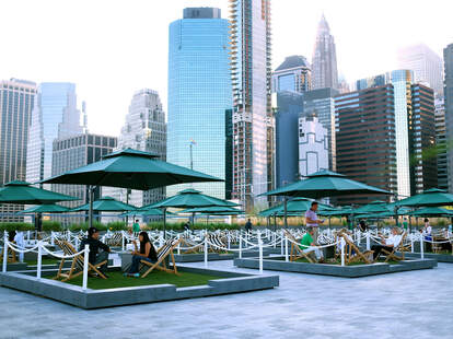 The Greens at Pier 17