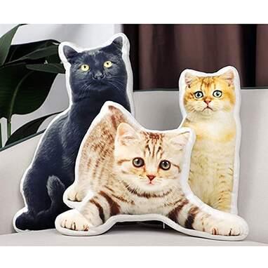 Cat custom pillow