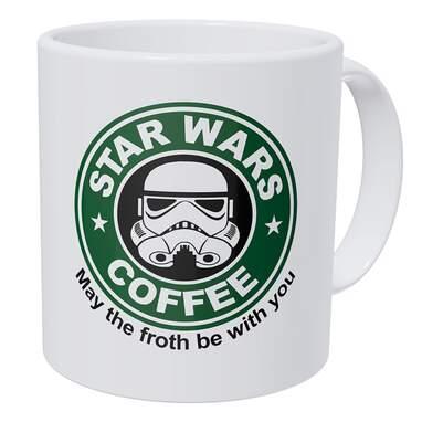 Wampumtuk Star Wars May The Froth Be With You Coffee Mug