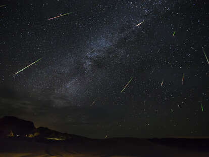 eta aquarid meteor shower near me