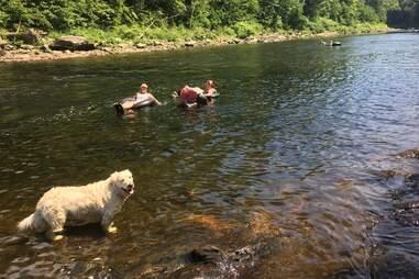 Deerfield River Portage