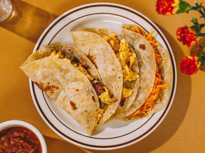 Yellow Rose tacos NYC