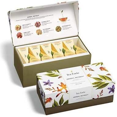 Tea Forte Presentation Box Tea Sampler