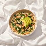 Spinach + Shiitake Grits Harvest Bowl