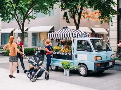 Blue Ribbon Floral - DC's Flower Truck
