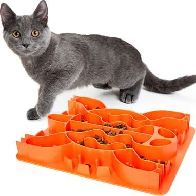 Cat slow feeder