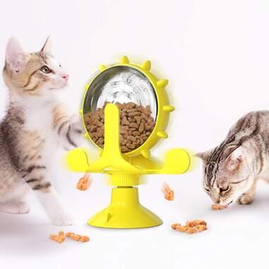 Cat food puzzle