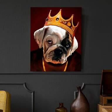 Customizable dog art