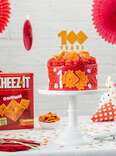 Cheez-It 100th Birthday Cake
