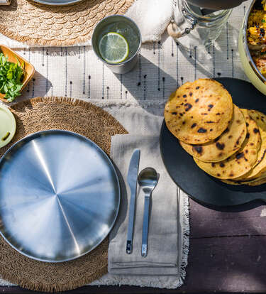 This Outdoor Dinnerware Will Change Your Picnic Table Into a Chef's Table
