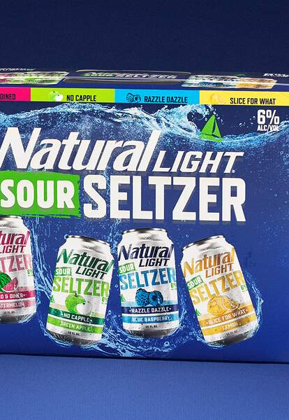 natural light sour hard seltzer