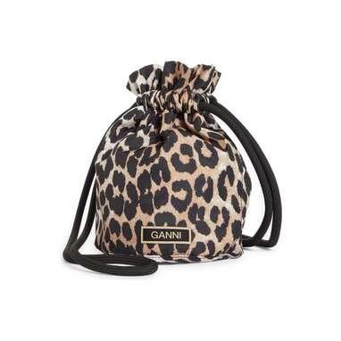 Animal Print Bucket Bag