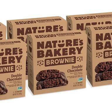 Nature's Bakery Whole Wheat Fig Double Chocolate Brownie