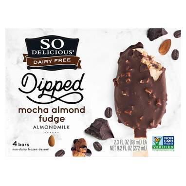 So Delicious Dairy Free Almond Milk Dipped Frozen Dessert Bar
