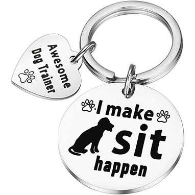 """I Make Sit Happen"" Keychain"