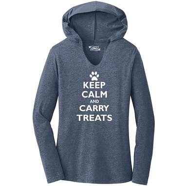 """Keep Calm and Carry Treats"" Hoodie"