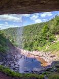 Waterfall at Kaaterskill Falls