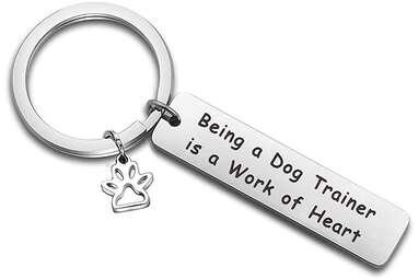 Dog Trainer Keychain