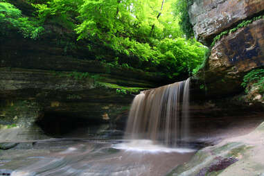 Lasalle Falls at Starved Rock State Park