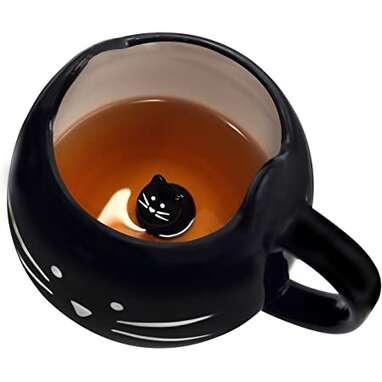 Koolkatkoo Cute Ceramic Cat Coffee Mug