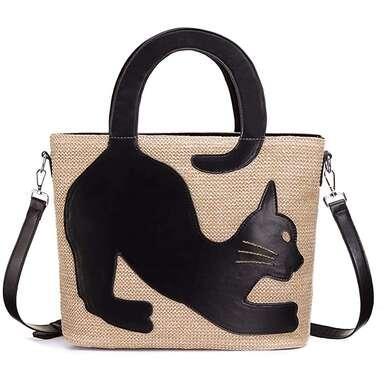 Cat Summer Beach Bag