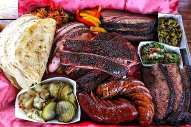 tex-mex bbq platter for 2m smokehouse