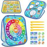 4 in 1 Multifunctional Game Board with Educational Function