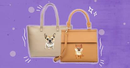 modern picnic pet purse