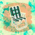 FUNBOY Retro Lawn Chair