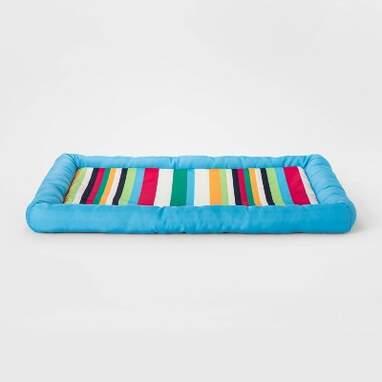 Stripe Cooling Dog Mat