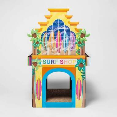 Surf Shop 2-Story Cat Scratch House