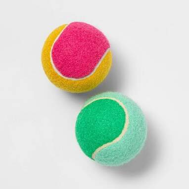 Colorblock Tennis Ball Dog Toy