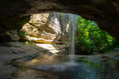 La Salle Canyon in Starved Rock State Park