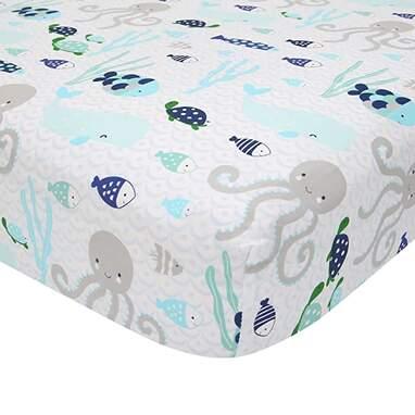 Lambs & Ivy Oceania Crib Sheet