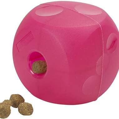 Treat dispenser interactive dog toy