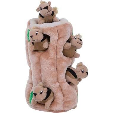 Hide-and-seek dog toy