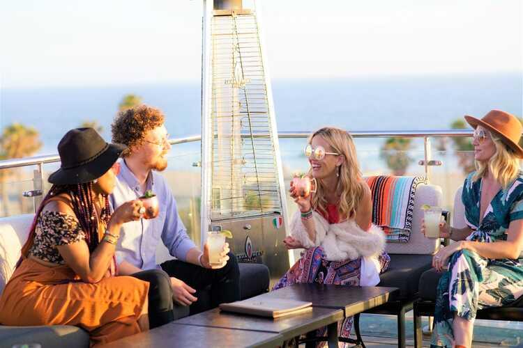 High Rooftop Bar at Hotel Erwin