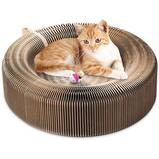 YOUTHINK Collapsible Cat Scratcher Bed