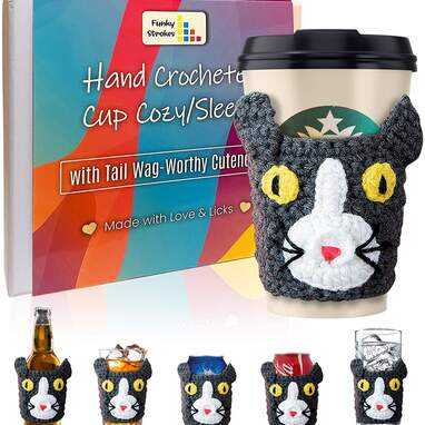 Cat cup warmers