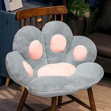 Cat paw cushion