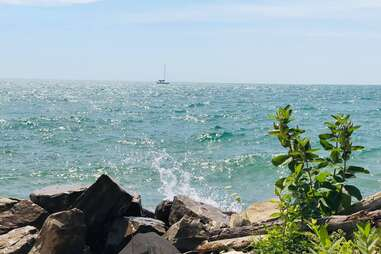 East Tawas lakefront