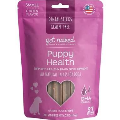 Get Naked Grain Free Puppy Dental Chew Sticks