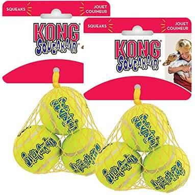 KONG Air Dog Squeaker Ball