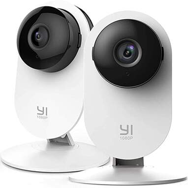 YI 2pc Security Camera